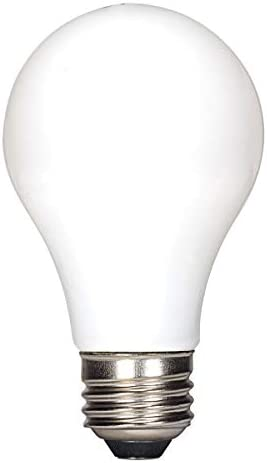 Satco S39825 7.5W LED A19; Soft White; 2700K; 120V 24-Pack Non-Compliant Replaces S29825
