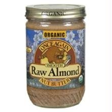 Once Again Organic Lightly Toasted Creamy Almond Butter, 16 Ounce -- 12 per case.