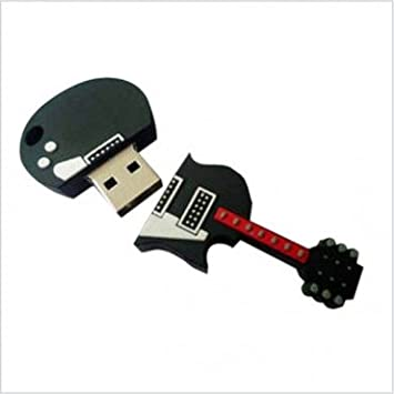 8fbf0e4f0 8GB FANCY DESIGNER GUITAR SHAPED USB PENDRIVE - Buy 8GB FANCY DESIGNER  GUITAR SHAPED USB PENDRIVE Online at Low Price in India - Amazon.in