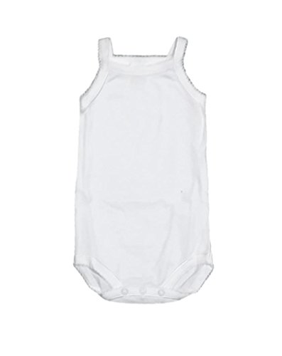Carlino 2-pack Camisole Scalloped Sleeveless Onesie (6-12 Months (20lbs - 26lbs))
