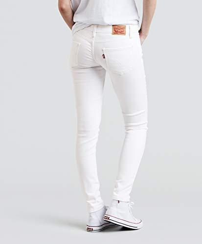 nbsp;super Jean Mujer Blanco 535 Skinny 's Levi Suave De La EwPpIqBx0x