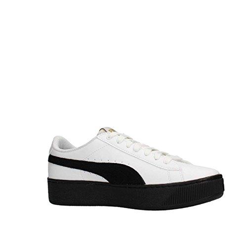 Pumas Chaussures forme Pour De Blanc L Plate Vikky Blanc Femmes 36489304 rqSxUwrKXH