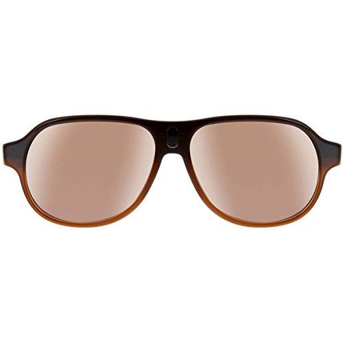 Harley Davidson - Lunettes de soleil - Homme Brown Fade-Gold/ Brown Lens