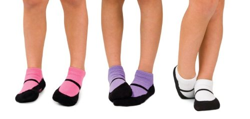 Trumpette Kids Maryjanes Ankle Socks - 3 Pair Set, size 7-8 years