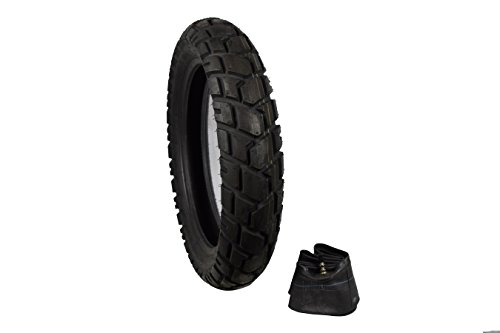 (Full Bore 130/80-17 M41 Dual Sport Rear Adventure Touring Bikes Motorcycle Tire with TR-4 Inner Tube)