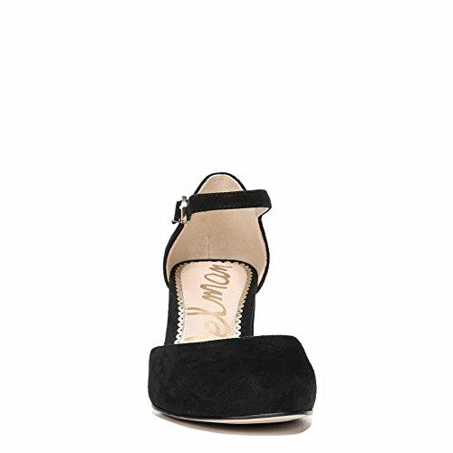 Sam Edelman Women's Clover Pump Black Kid Suede Leather footaction cheap price K6DwQ8YzB