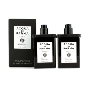 Acqua Di Parma Colonia Essenza Eau De Cologne Travel Spray Refills For Men 2X30ml/1Oz
