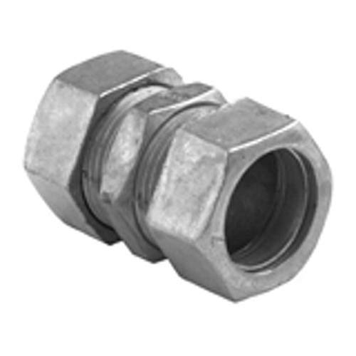 - Bridgeport 267-DC Compression Coupling, 3 in, for Use with Steel and Aluminum EMT Conduit, Die Cast Zinc