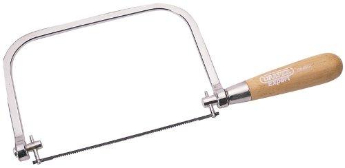 Expert Bogensäge, & Klinge, hochwertig, verchromter Rahmen, mit Holz-Griff Klinge ausgestattet kann um 360° gedreht werden für anspruchsvolles Arbeiten, in Sichtverpackung.