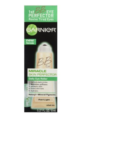 Garnier Skin BB Eye Miracle Skin Perfector Eye Roller, Fair/Light (Pack of 3)