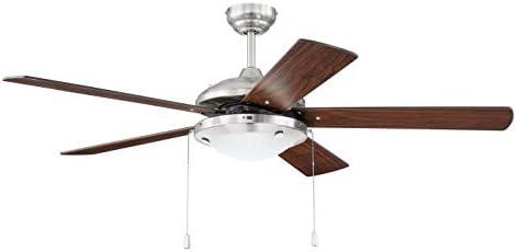 Craftmade NIK52BNK5 Nikia 52″ Outdoor Ceiling Fan