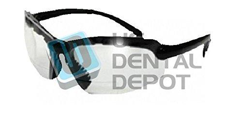 Task Vision Sport Bifocal +2.5 Safety Glasses - # S25o 122171 US Dental Depot