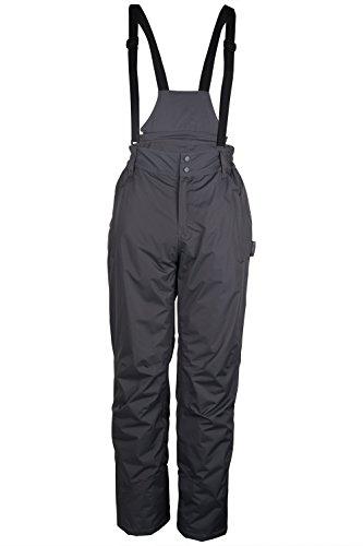 Mountain Warehouse Dusk Mens Ski Pants – Elastic Waist Ski Trousers Dark Grey - Men Warehouse