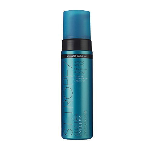 St. Tropez Self Tan Express Advanced Bronzing Mousse, 6.7 Fl Oz Bronzing Mousse