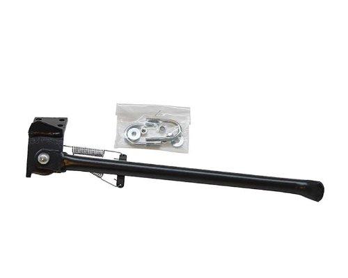 Moto /à boite B/équille lat/érale noire pour DERBI Senda R 50cc