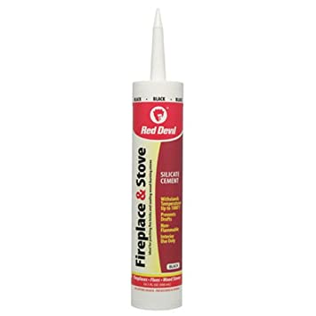 Amazon.com: Red Devil 0466 Fireplace & Stove Repair Paste Adhere ...