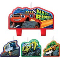 Blaze and the Monster Machines Birthday Candle Set -