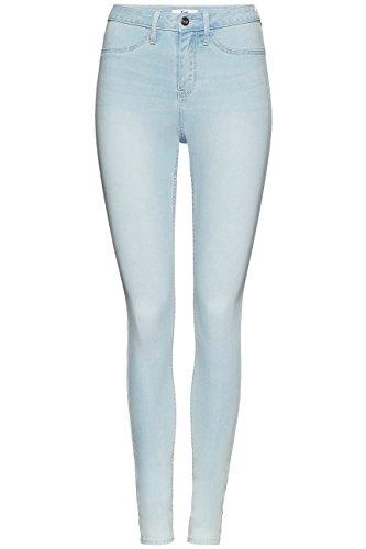Super Bleu FIND Femme Skinny Light Blue Taille Jean Normale Tnqw6O
