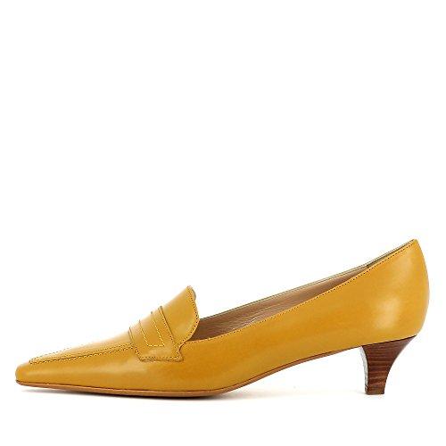 Evita Shoes Lia - Zapatos de vestir de Piel para mujer, color negro, talla 36 EU