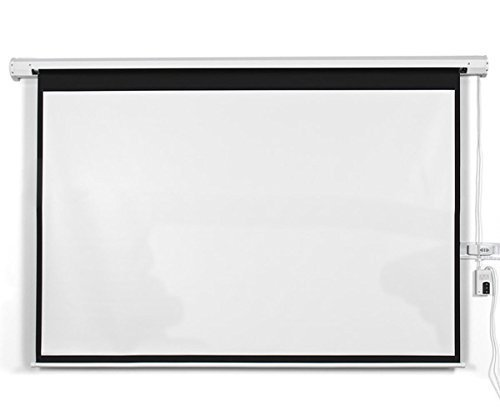 Safstar Electric Motorized Auto Projector Projection Screen