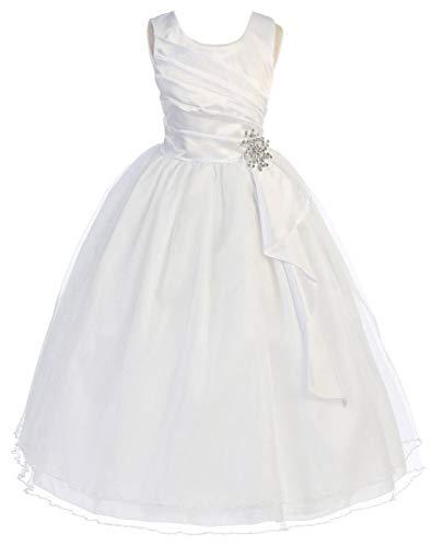 OLIVIA KOO Girls Graceful First Communion Dress (Size -