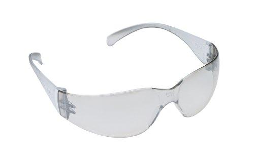 3M Virtua Protective Eyewear, 11328-00000-20 I/O Hard Coat Lens, Clear Temple  (Pack of (Coat Clear Lens)