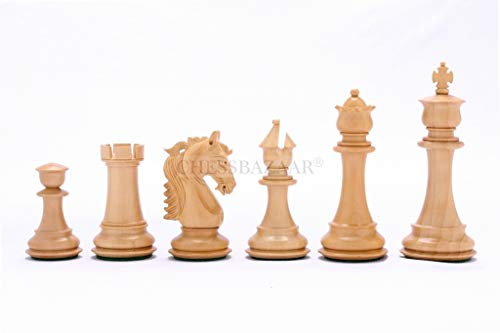 The French Warrior Luxury Chess Set in Ebony & Box Wood - 4.9