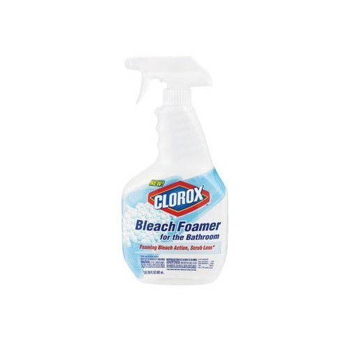 Clorox Bleach Foamer Bathroom Spray, 30 oz. Bottles 2 Pack of 3 by *Clorox Clean Up