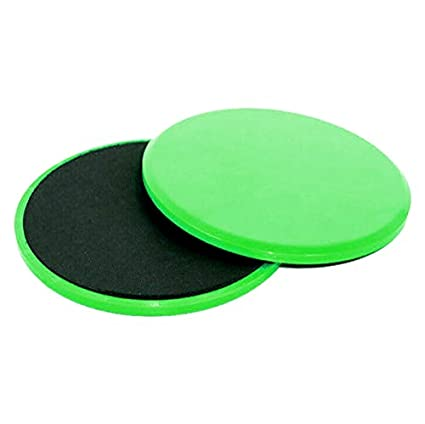 Dual Sided Core Exercise for Use on Carpet Hardwood or Floors ONEX SLIDER DISCS Fitness Gliding Abdominal * Exercise Sliding Plate for men and women