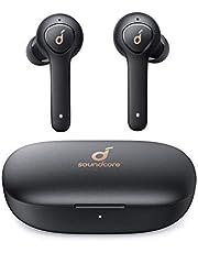 Soundcore Life P2 Bluetooth Kopfhörer, Wireless Earbuds mit cVc 8.0 Geräuschisolierung für kristallklares Klangprofil, 40 St Akkulaufzeit, IPX7 Wasserschutzklasse