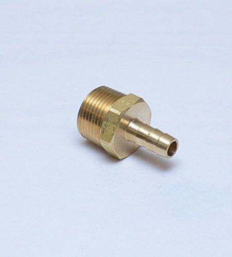 FasParts Brass Straight Male 3/8
