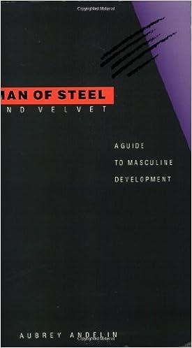 Pdf steel and man of velvet
