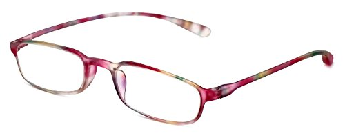 Multi Color Frames Reading Glasses - Calabria Reading Glasses - 718 Flexie in Multi (+3.50)