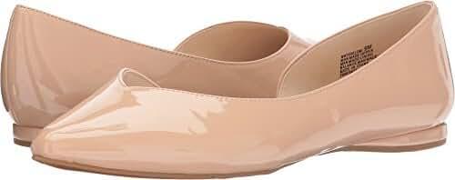 Nine West Women's Shelomi Synthetic Ballet Flat