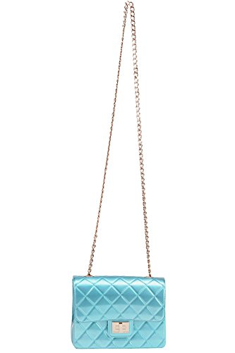 Reverse Design Woman Mcglbre03095e Clear Blue Plastic Clutch