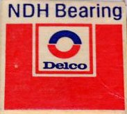 (NDH Bearing Delco Z499504 Bearings )