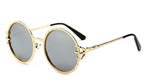 Gafas Sol Mujeres Sol De De De Mercurio De Hombres Color Sol De Tabletas Verdadero Gafas Marco Tendencias Oro XGLASSMAKER Gafas Tendencia Y De g0n8vwx