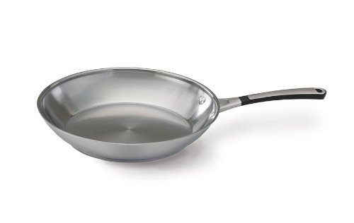 Simply Calphalon Stainless 12 Inch Omelette Pan