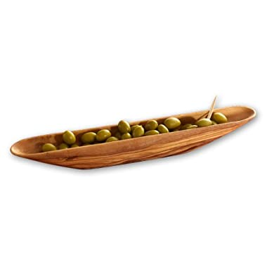 Berard Olive-Wood Handcrafted Olive Boat