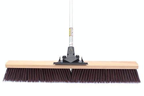 Pack 2- 3 Gray Flagged Polypropylene Boardwalk 20436 Floor Brush Head 36