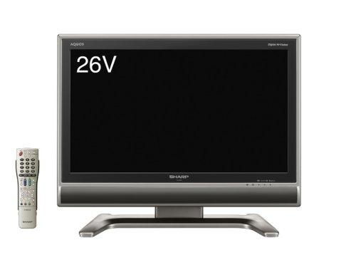 シャープ 26V型 液晶 テレビ AQUOS LC-26GH3 ハイビジョン   2007年モデル B000TA38SW