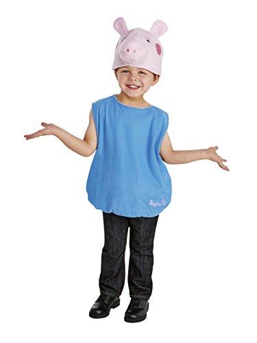 (Peppa Pig - George Toddler Costume)