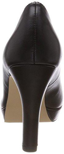 Zapatos s Negro Tacón 22410 Nappa Mujer para Oliver Black de qSwEw7v