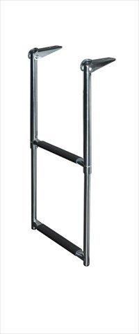 JIF Marine DMX2 Telescoping Drop Stainless Steel Ladder, -