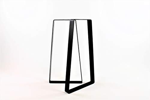 Trapezoid Sofa Table Legs-Choose Your Height and Width (Satin Console Legs)