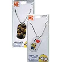 Minions Dogtag Necklace 18in [6 Retail Unit(s) Pack] - MDN