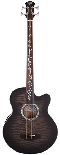 Michael Kelly MKDF4FLSKB Dragonfly 4 Fretless Bass, (Dragonfly 4 Fretless Acoustic Bass)