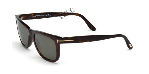 664689602933 - Tom Ford Leo 336 Wayfarer Leo  Havana Polarized carousel main 7