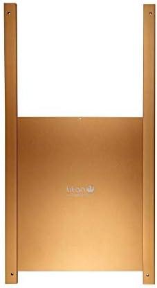 Puerta metálica corredera para gallinero Titan Incubators