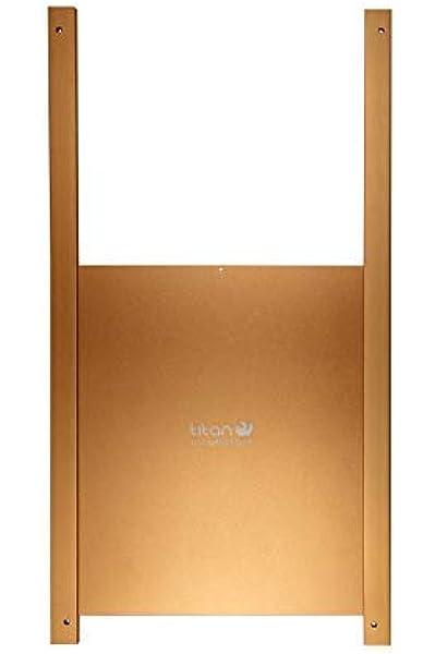 Puerta metálica corredera para gallinero Titan Incubators: Amazon.es: Productos para mascotas